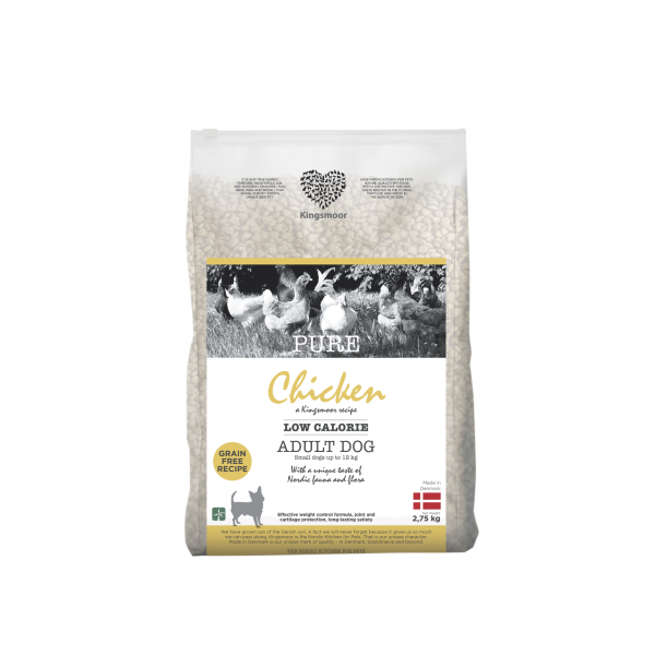Pure Chicken Low calorie - Small dogs, 2,75 kg
