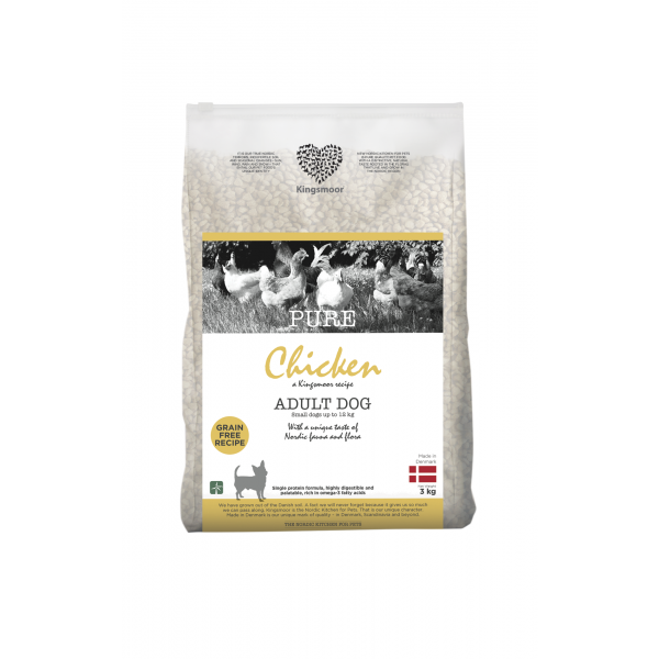 Pure Chicken - Small dogs, 3 kg