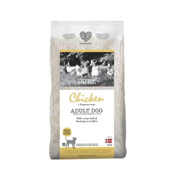 Pure Chicken - Medium and Large dogs, 12 kg