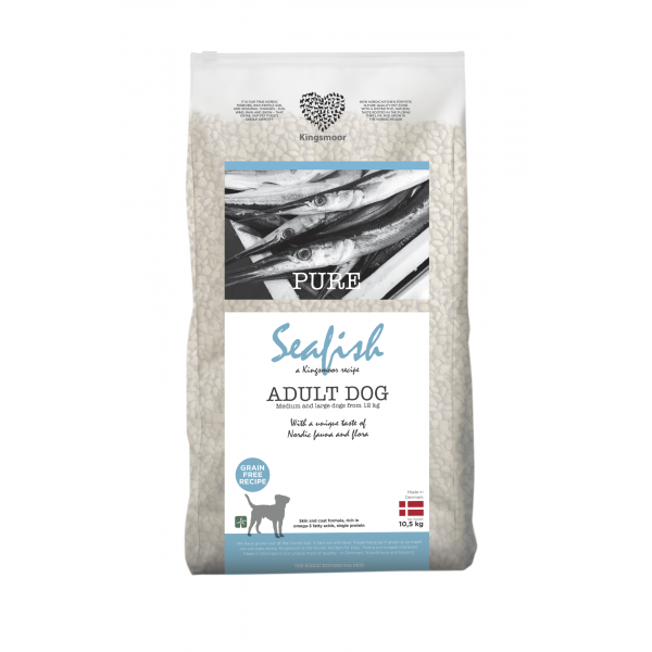 Pure Seafish - Medium and large dogs, 10,5 kg